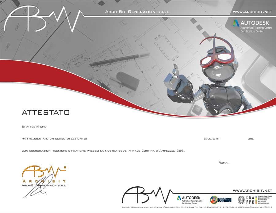 Attestati di frequenza ai corsi gratuiti per ADA 3 Regione Lazio finanziati dalla Comunità Europea