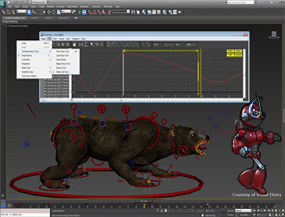 character animation 3d rigging corso 3ds max expert archibit centro corsi autodesk roma