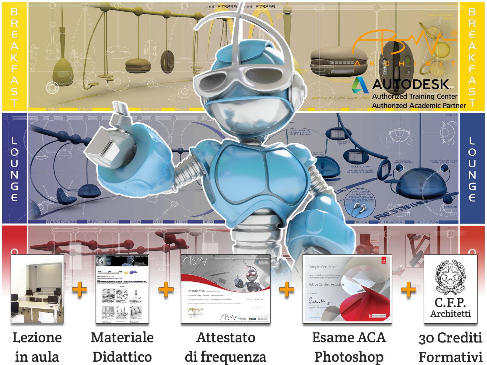 corso-photoshop-completo-certificazione-esame-aca-archibit-centro-corsi-adobe-certiport-roma