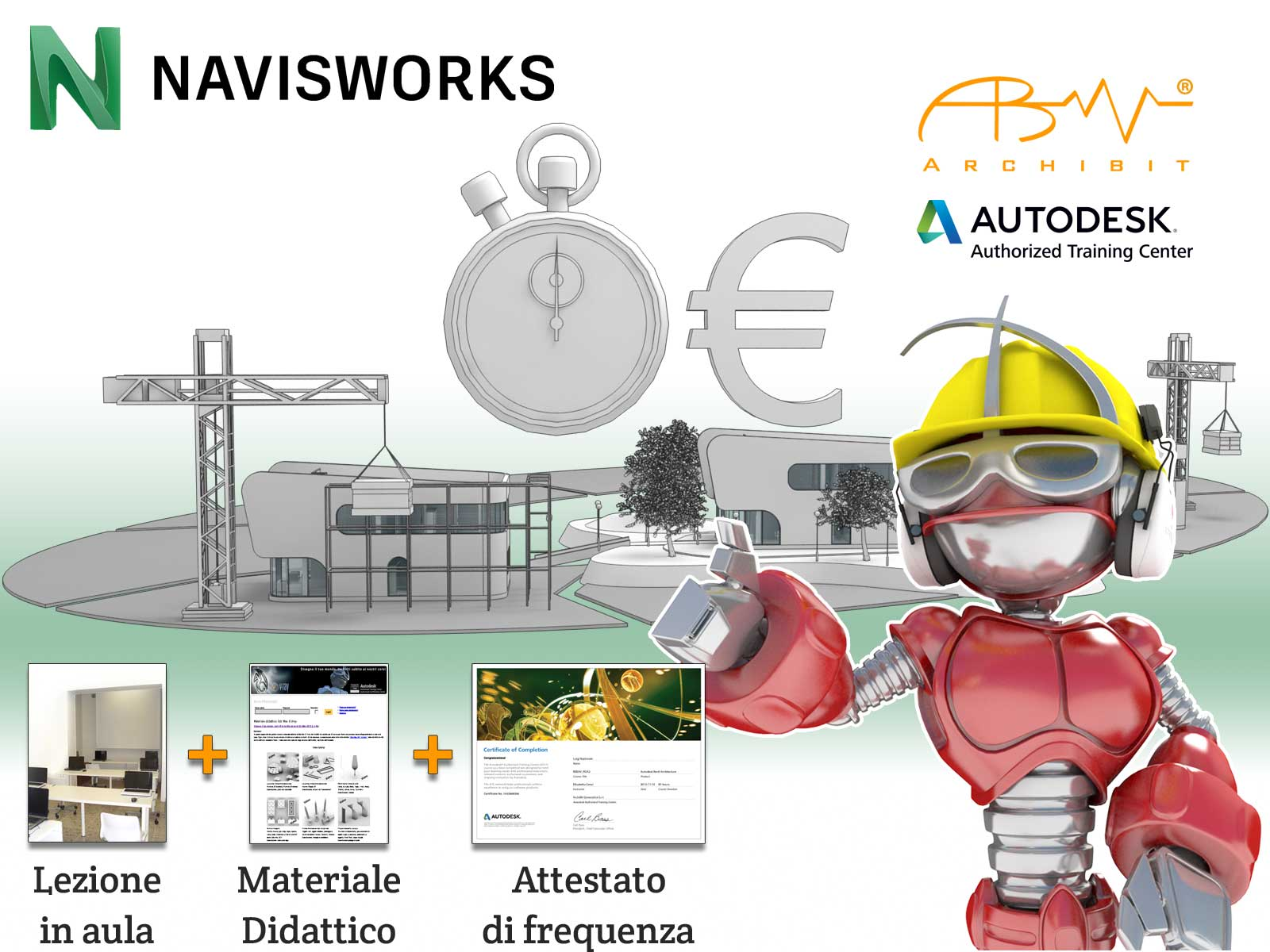 Corso Navisworks - Archibit Generation centro corsi BIM Autodesk Roma