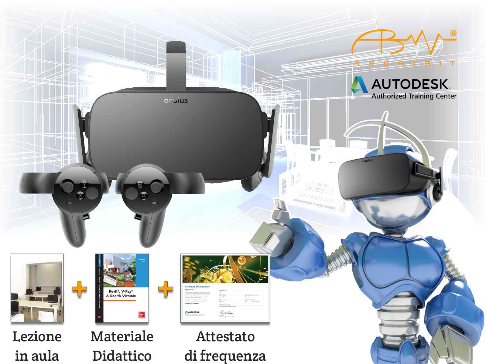 Corso Revit e realtà virtuale Autodesk