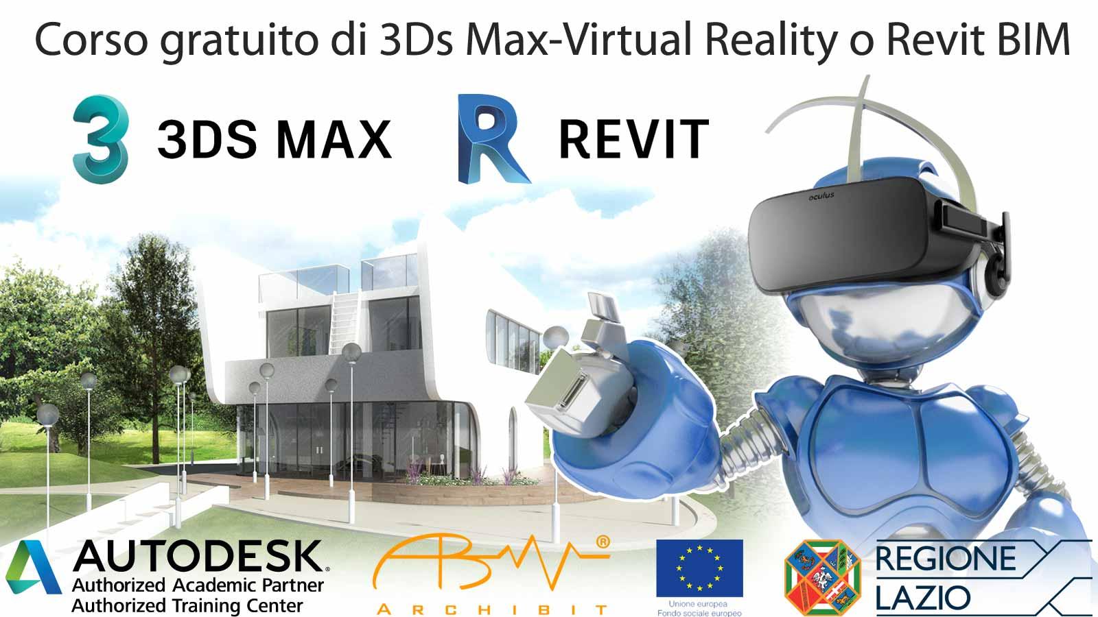 corsi gratuiti ADA finanziati comunita europea fse regione lazio archibit centro corsi finanziati autodesk bim 3d roma