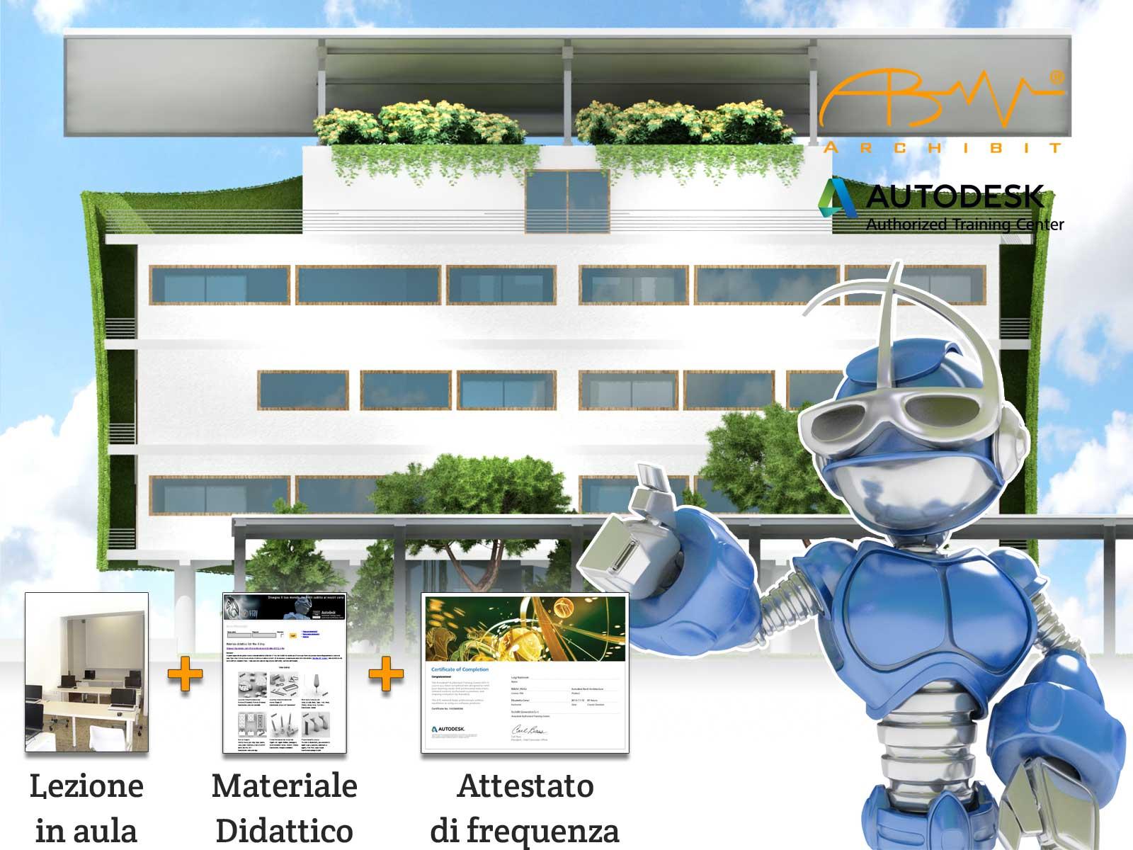 Corso Revit MEP - Archibit Generation centro corsi Autodesk Roma