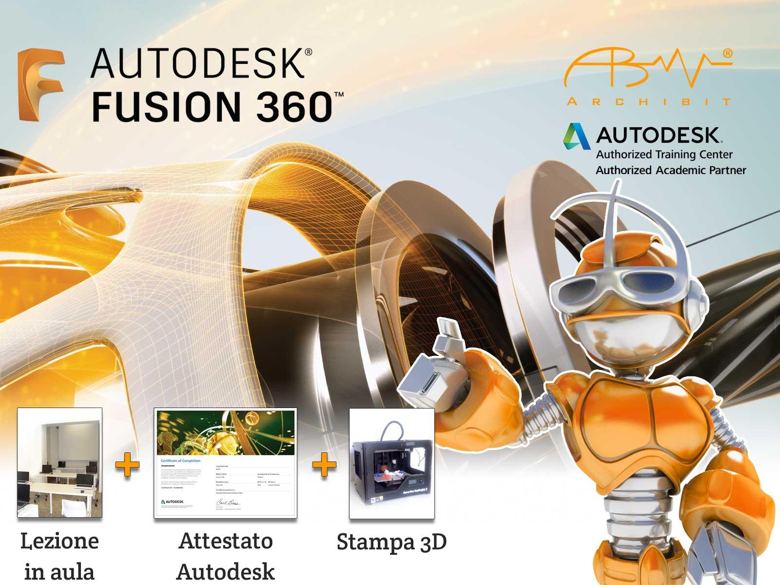 corso fusion 360 corso autodesk fusion360 archibit centro corsi autodesk roma