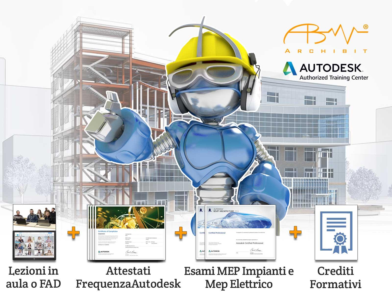revit bim expert corso bim con certificazioni autodesk